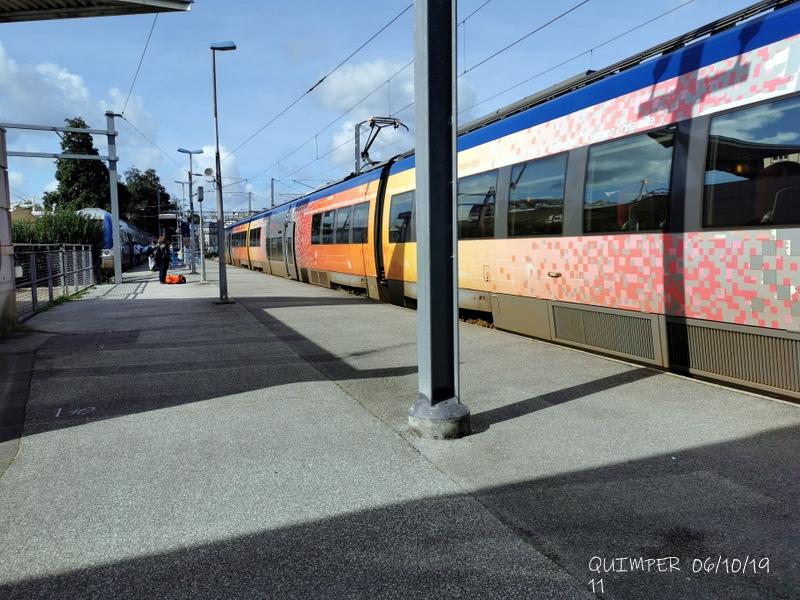 En gare de Quimper le 04/10/19 et le 06/10/19 Img_2281