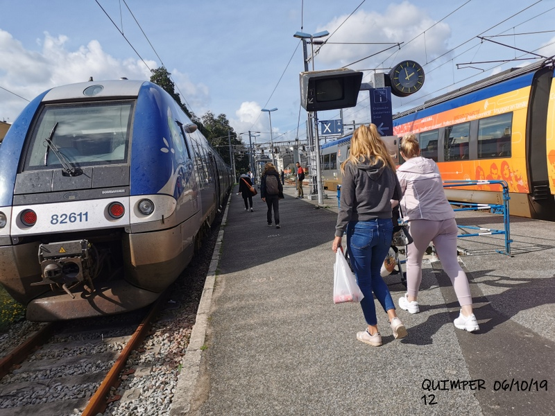 En gare de Quimper le 04/10/19 et le 06/10/19 Img_2282