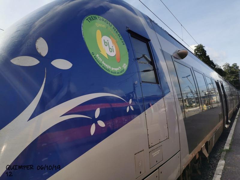 En gare de Quimper le 04/10/19 et le 06/10/19 Img_2283