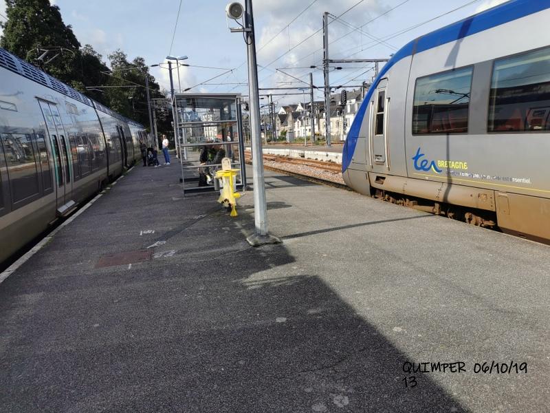En gare de Quimper le 04/10/19 et le 06/10/19 Img_2284