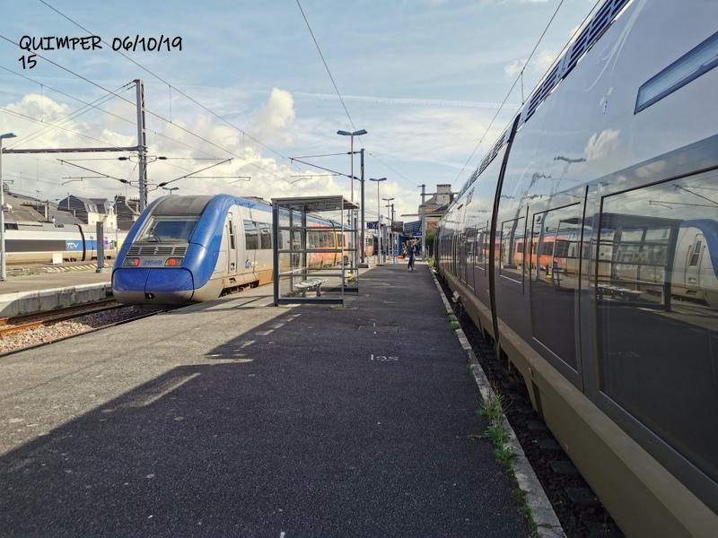En gare de Quimper le 04/10/19 et le 06/10/19 Img_2286