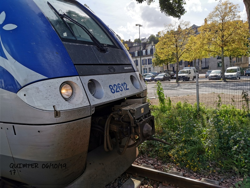 En gare de Quimper le 04/10/19 et le 06/10/19 Img_2288