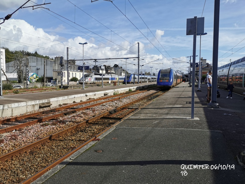 En gare de Quimper le 04/10/19 et le 06/10/19 Img_2289