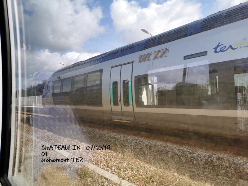 Ligne Quimper-Landerneau (Brest) Halte de Pont de Buis 06/10/19 Img_2291