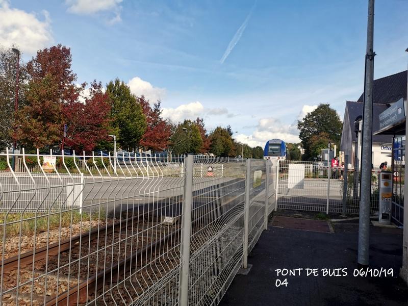 Ligne Quimper-Landerneau (Brest) Halte de Pont de Buis 06/10/19 Img_2294