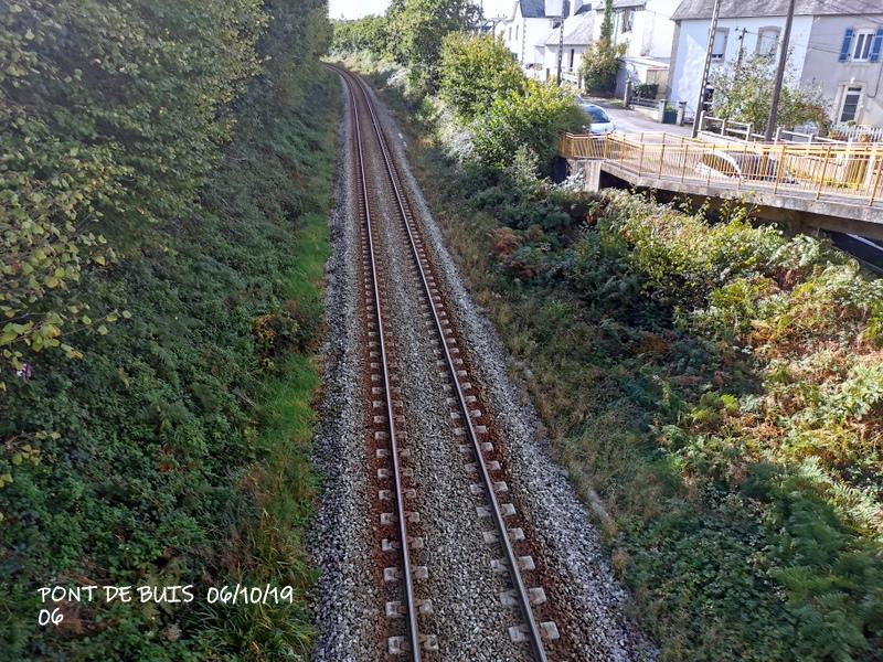 Ligne Quimper-Landerneau (Brest) Halte de Pont de Buis 06/10/19 Img_2296