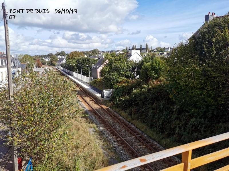 Ligne Quimper-Landerneau (Brest) Halte de Pont de Buis 06/10/19 Img_2297