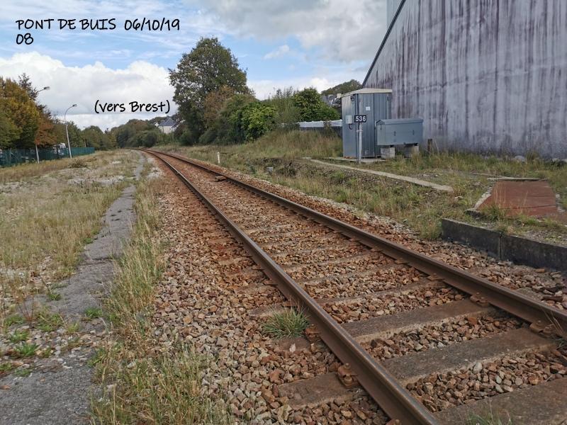 Ligne Quimper-Landerneau (Brest) Halte de Pont de Buis 06/10/19 Img_2299