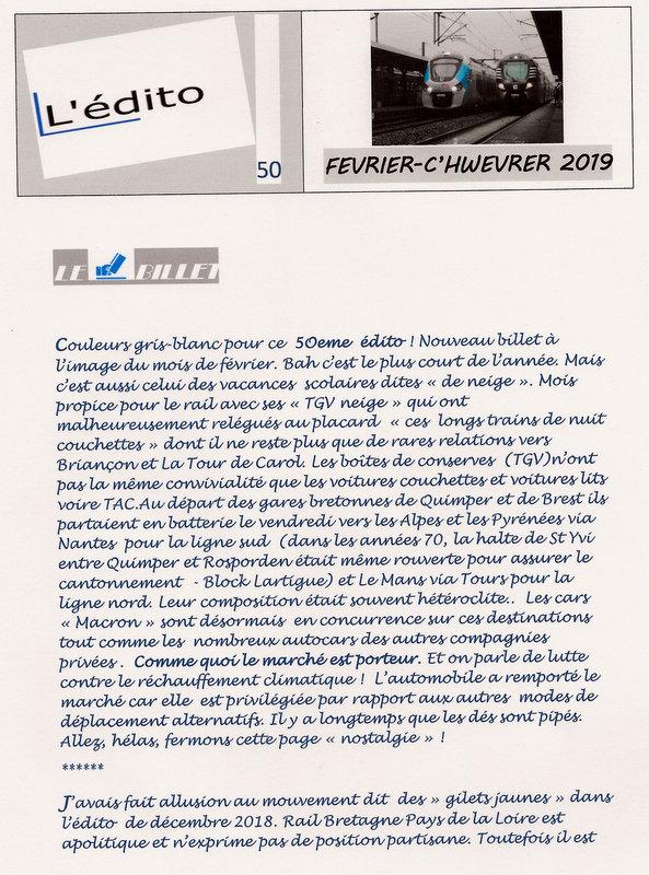 L'édito #50  Février 2019 Scan26