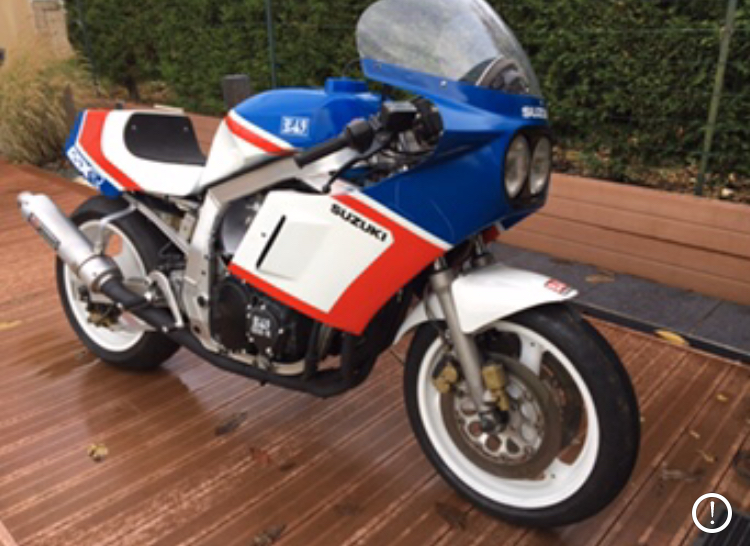 Ensemble carrosserie gsxr 1100 1988 Cc0c2410