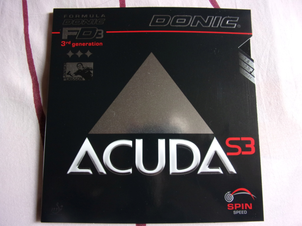 DONIC ACUDA S 3 à 60 % 123_1447