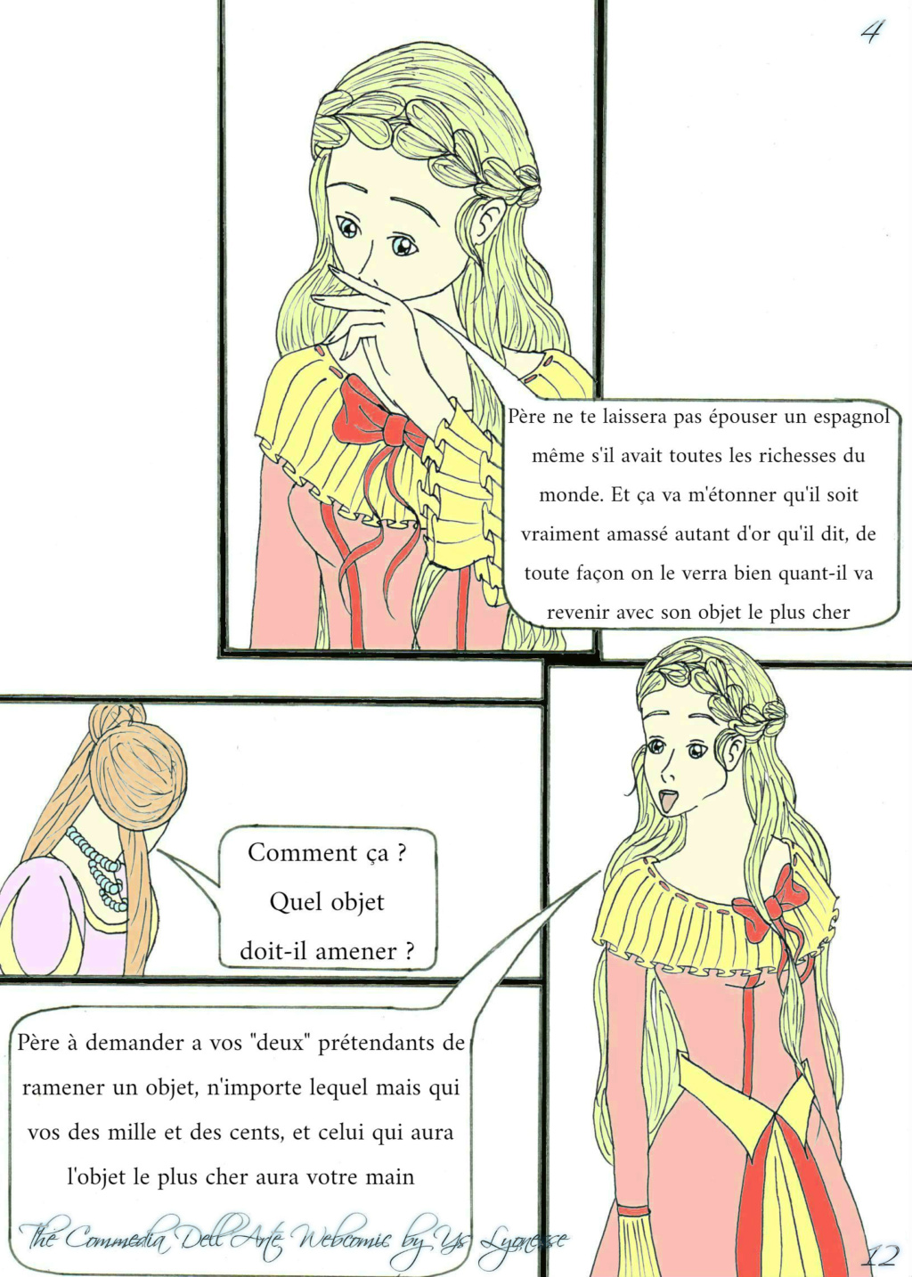 The Commedia Dell'Arte Webcomic 1210