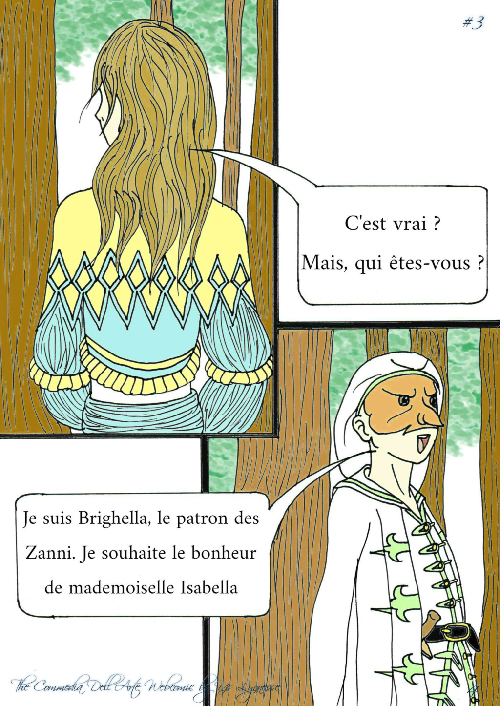 The Commedia Dell'Arte Webcomic P_412