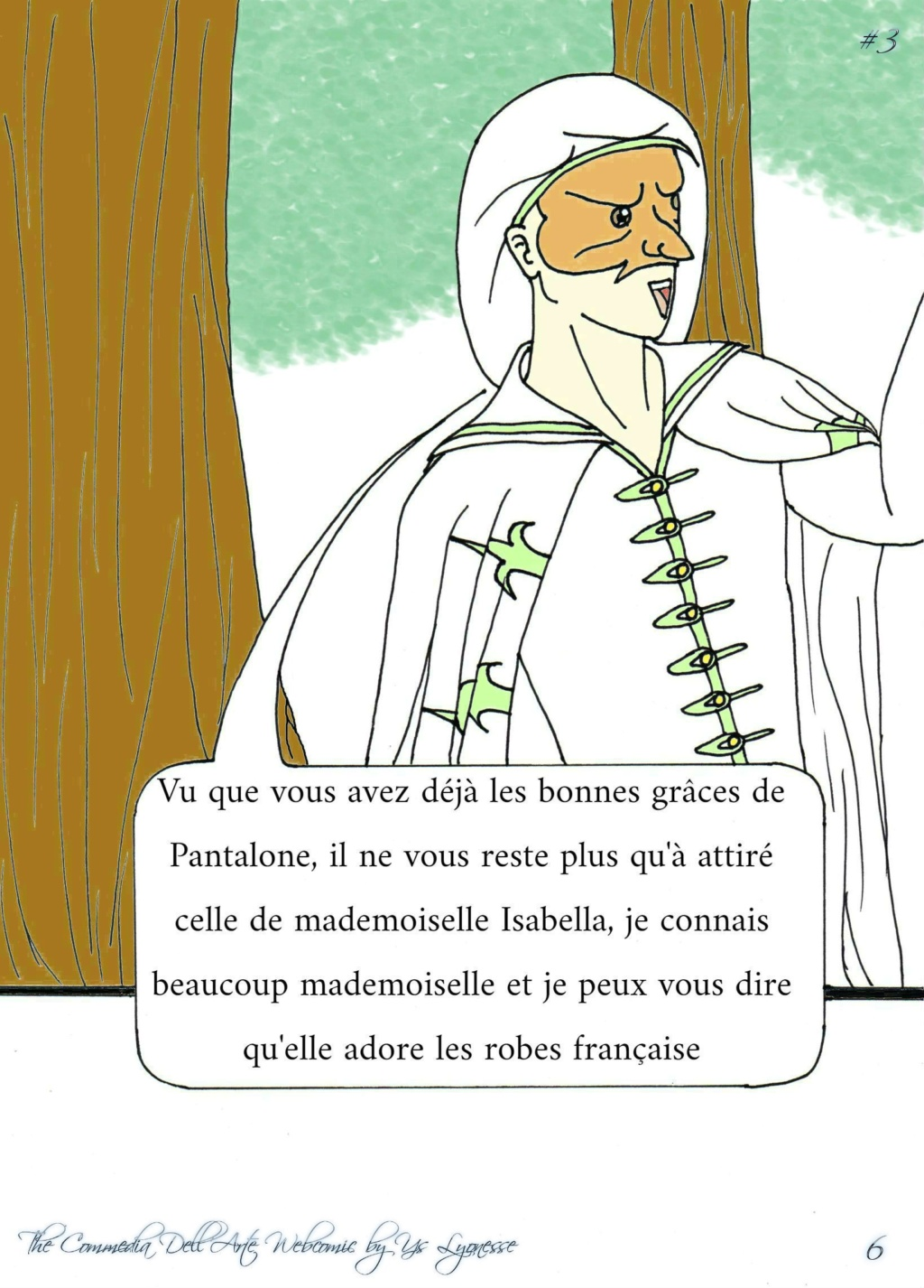The Commedia Dell'Arte Webcomic P_613