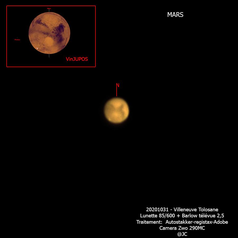 Mars avec une petite focale! Mars10