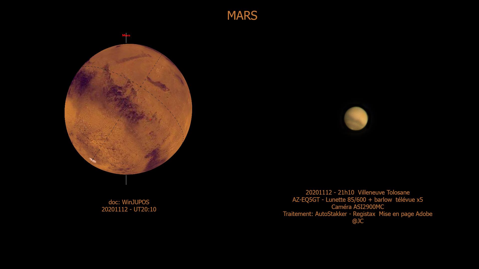 Une dernière image de mars à la lunette Mars11