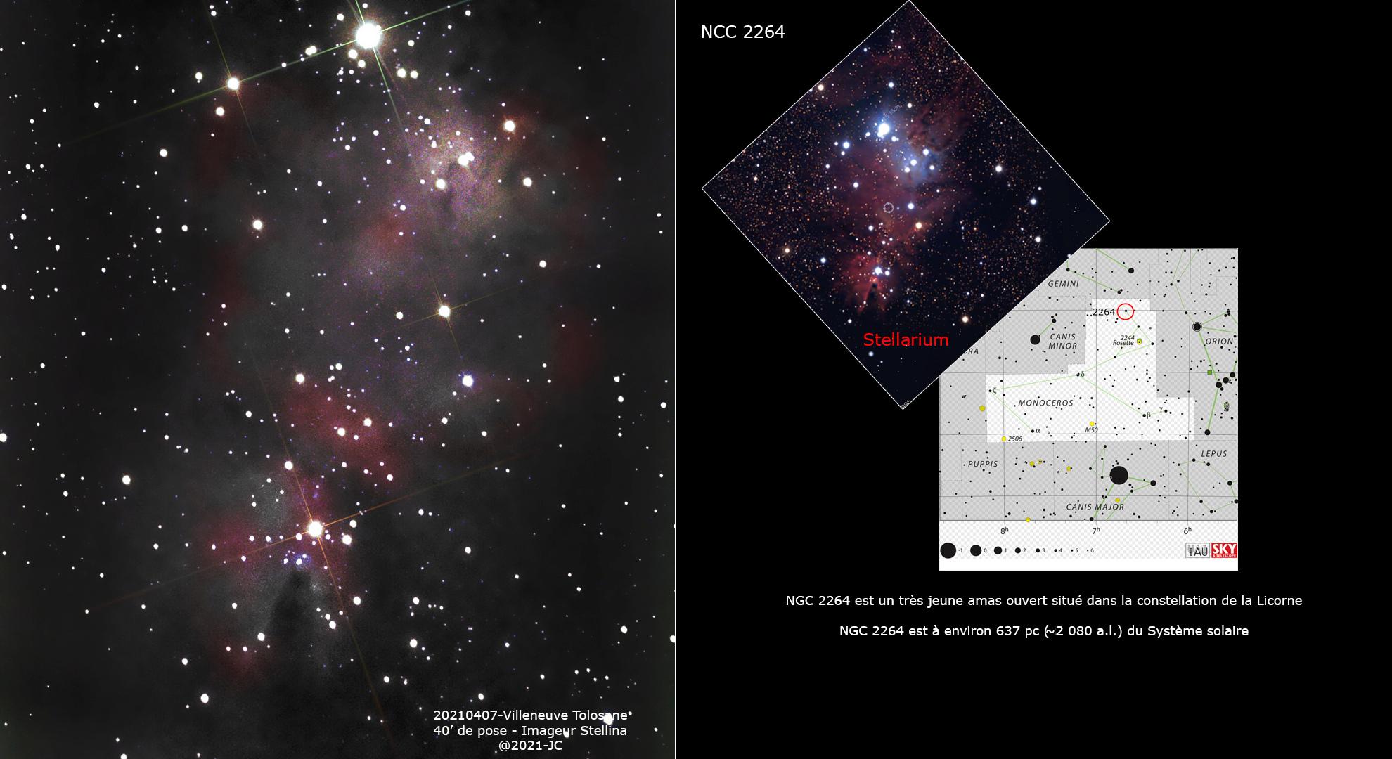 NGC 2264 Ngc22611