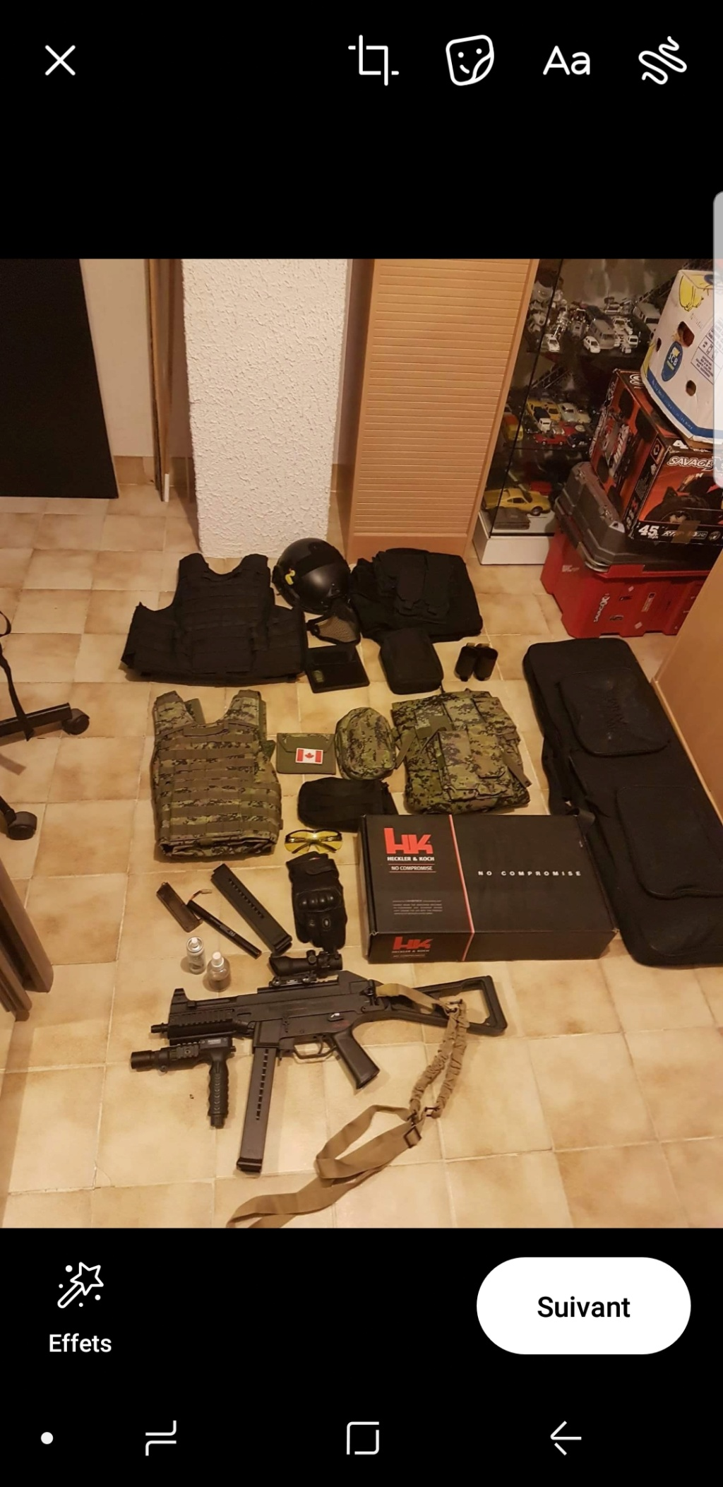 Lot complet Airsoft Screen11
