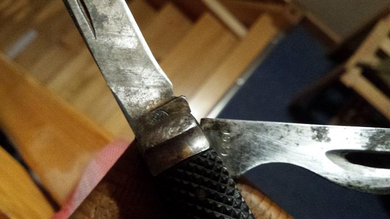 """Les """"jack knives"""", couteaux pliants du Tommy C311"""
