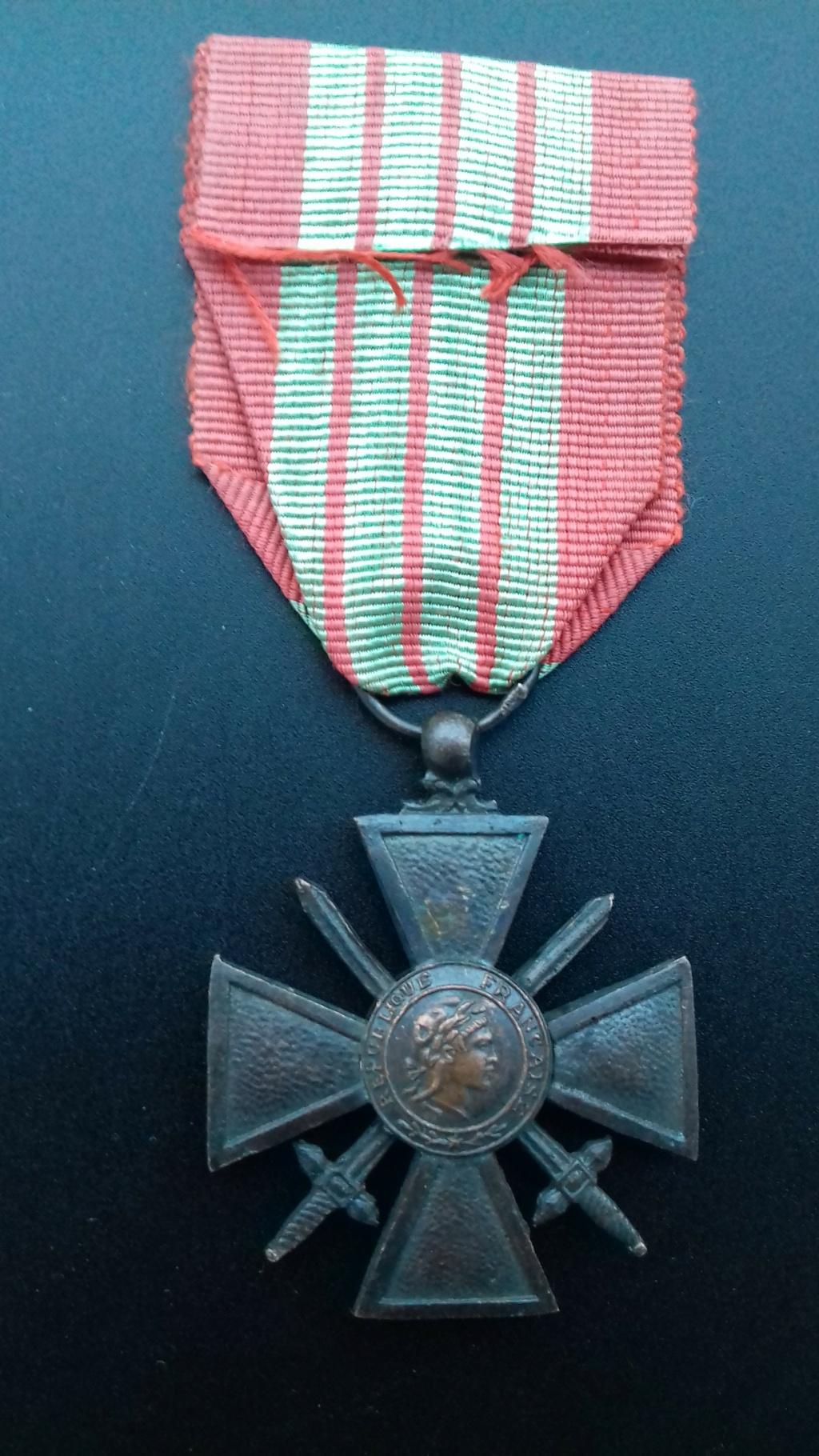 Croix de Guerre 1939 dite de Milan  20201210