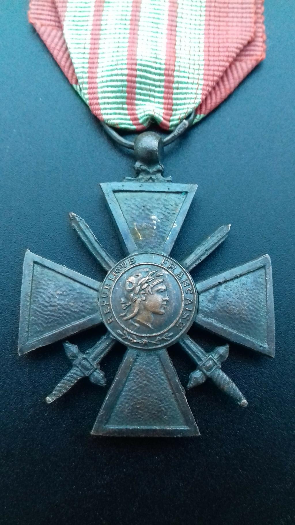 Croix de Guerre 1939 dite de Milan  20201211