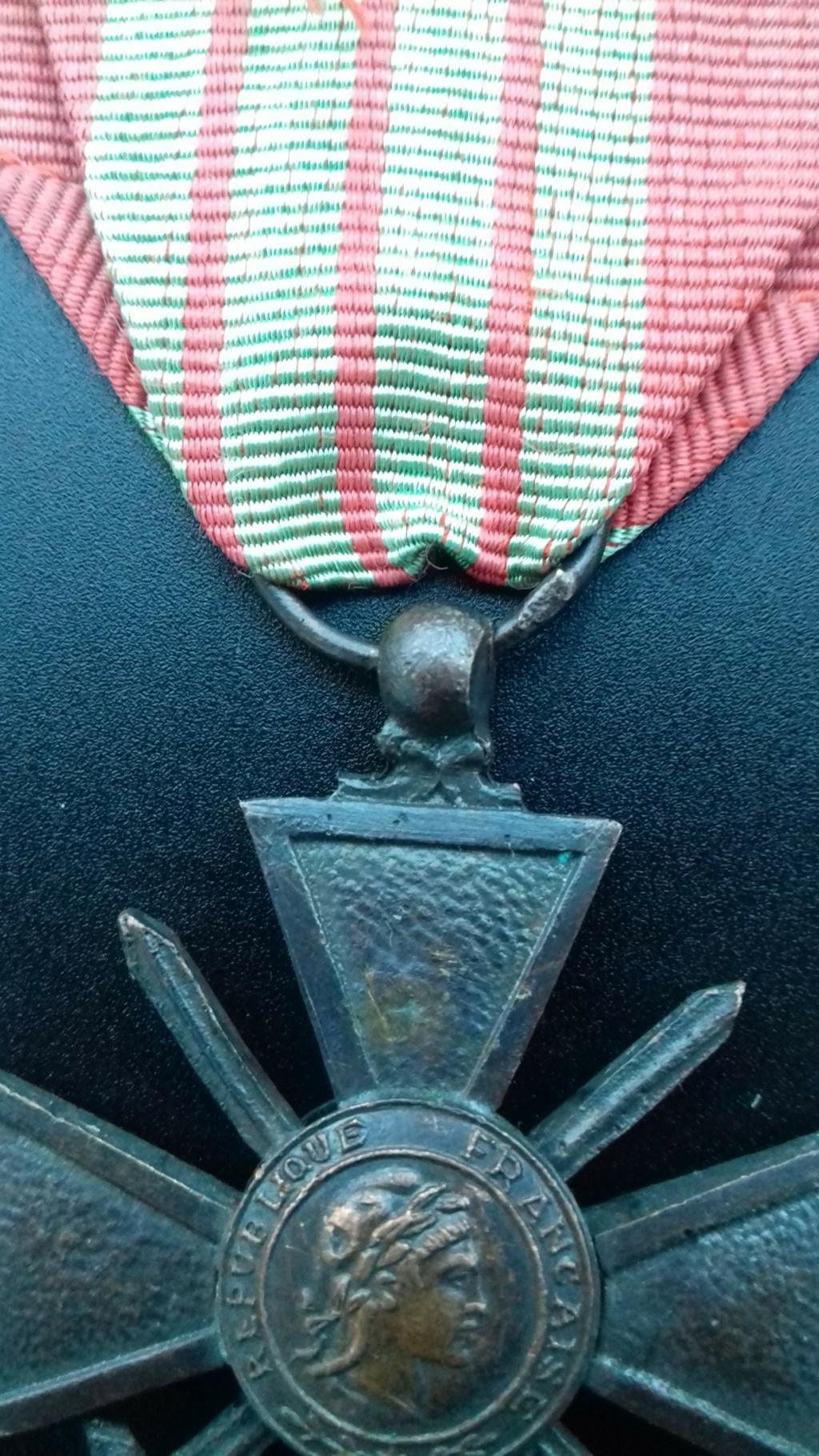 Croix de Guerre 1939 dite de Milan  20201212