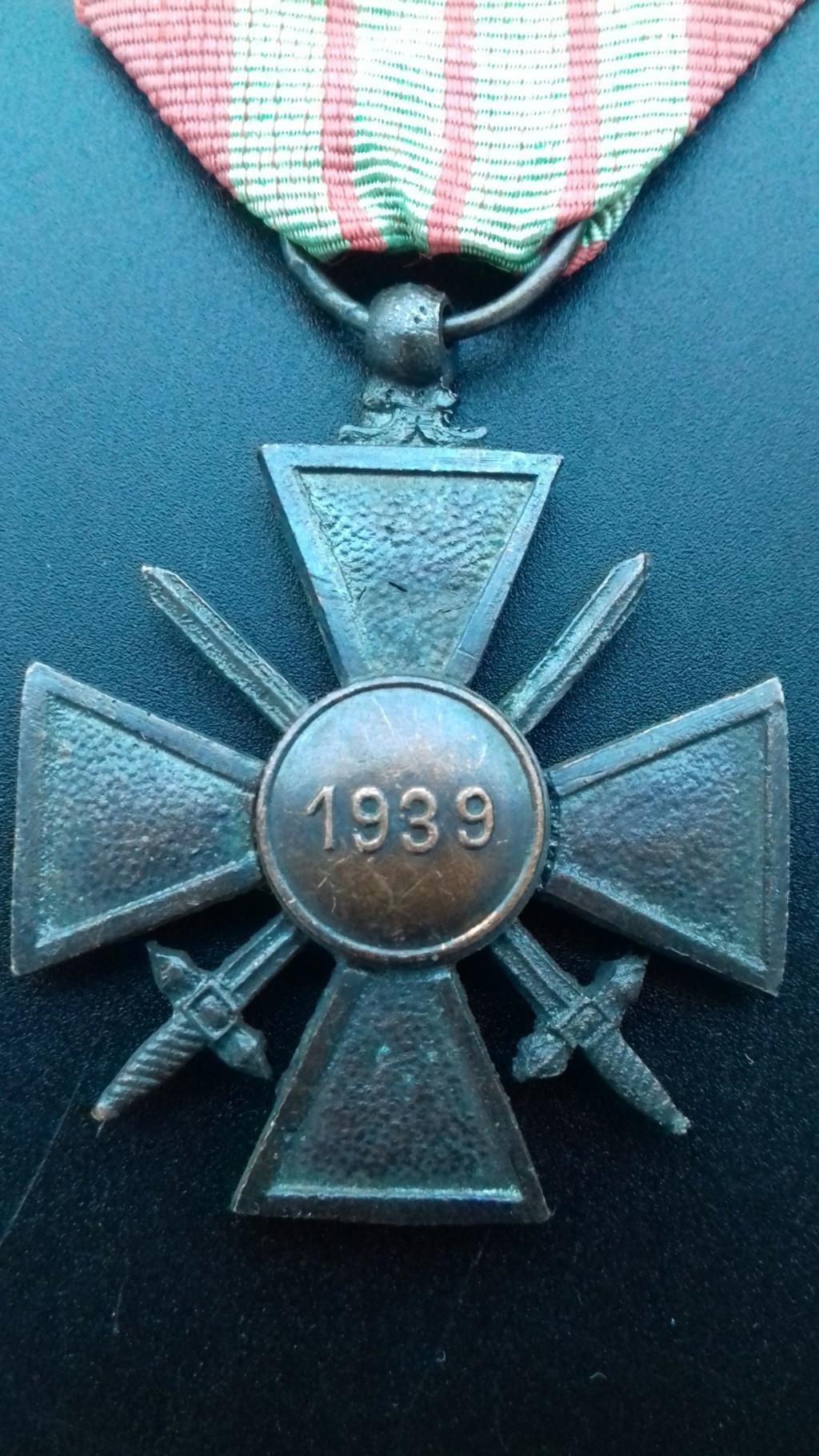 Croix de Guerre 1939 dite de Milan  20201215