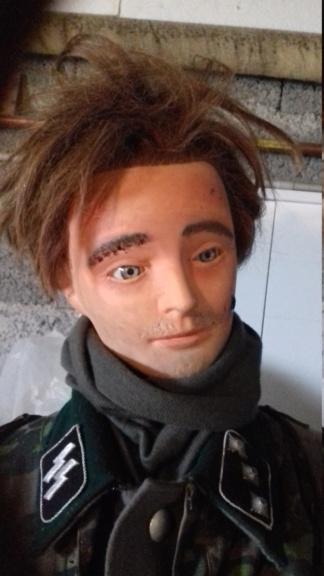 Tuto amélioration d'une tête de mannequin de coiffure d'entrainement 20210710