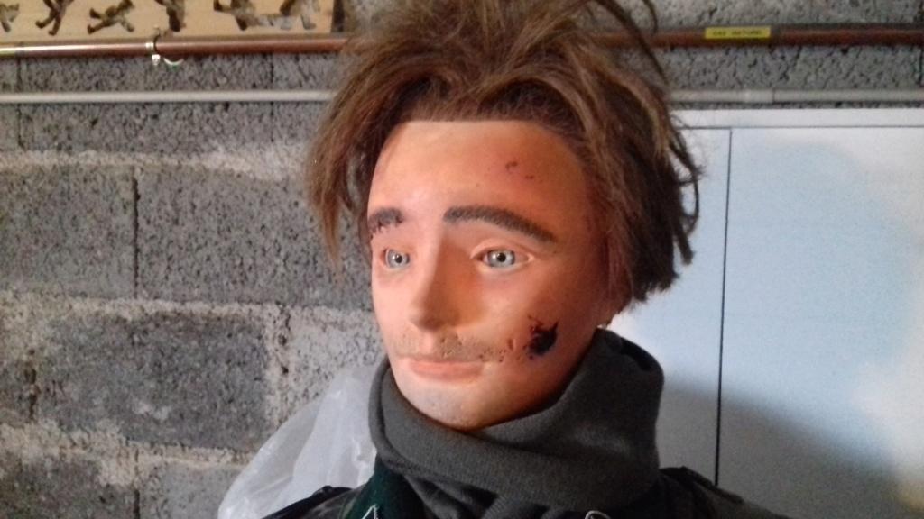 Tuto amélioration d'une tête de mannequin de coiffure d'entrainement 20210711
