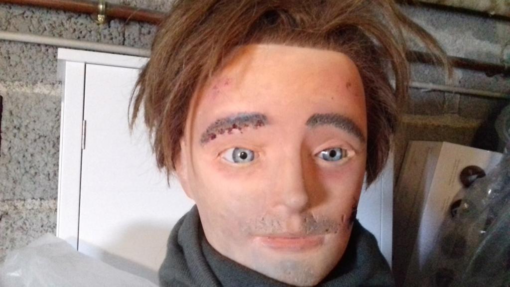 Tuto amélioration d'une tête de mannequin de coiffure d'entrainement 20210712