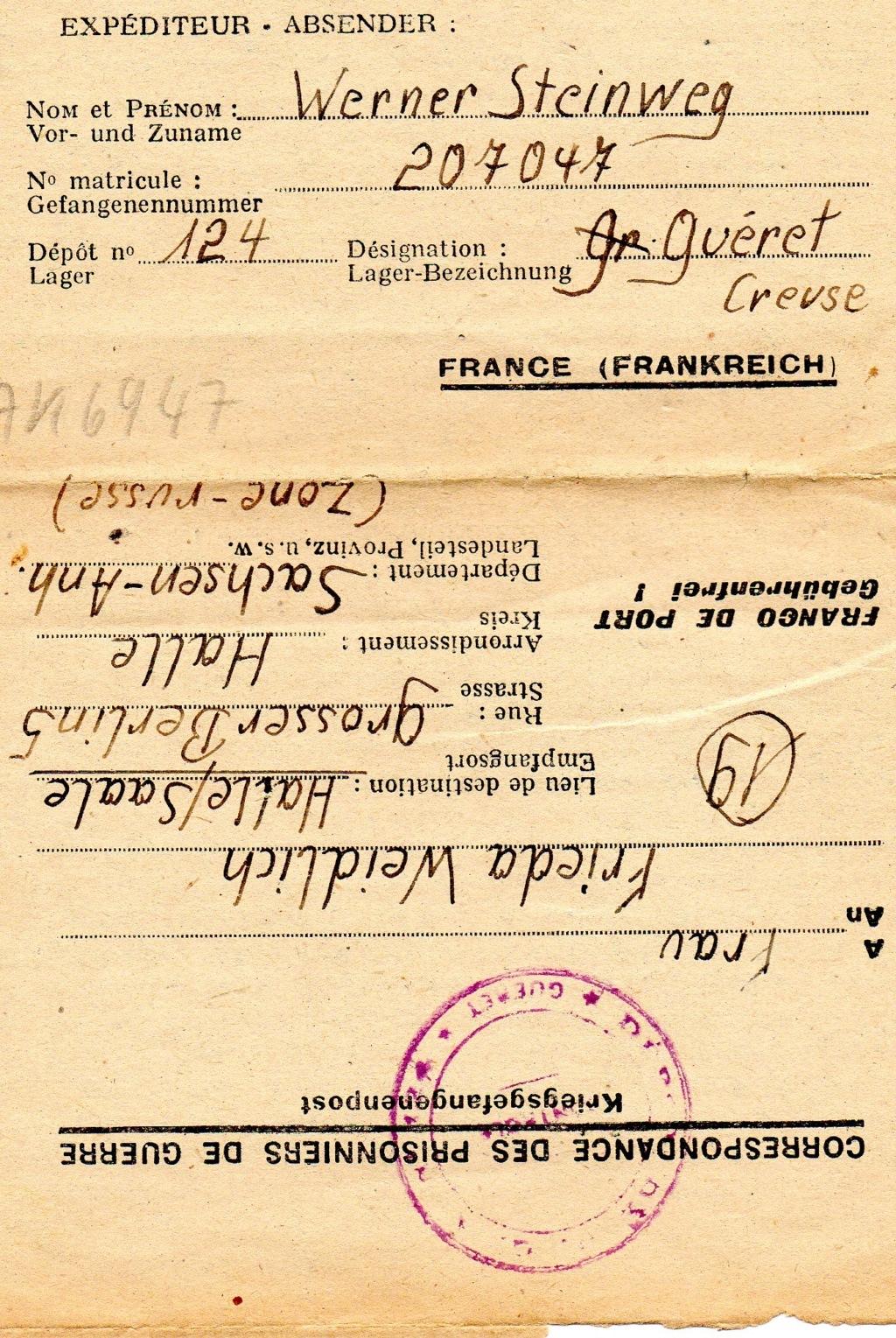 Courrier prisonnier de guerre allemand en creuse Img21510