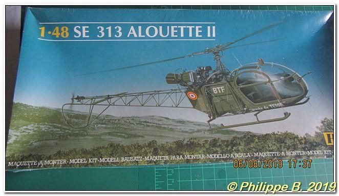 Alouette II (SE.313) , Heller, 1:48 Tn_64036