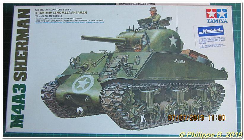 M4A3 (Tamiya MM222) vs M32 (Italeri 203), 1:35 - M4A3 prêt à peindre Tn_80037