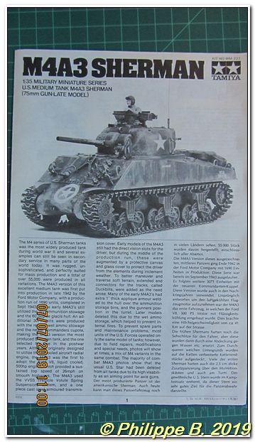 M4A3 (Tamiya MM222) vs M32 (Italeri 203), 1:35 - M4A3 prêt à peindre Tn_80039