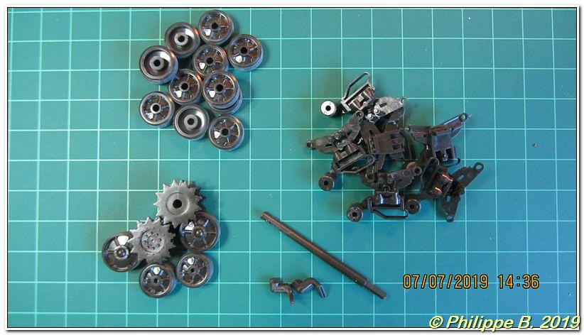 M4A3 (Tamiya MM222) vs M32 (Italeri 203), 1:35 - M4A3 prêt à peindre Tn_80042
