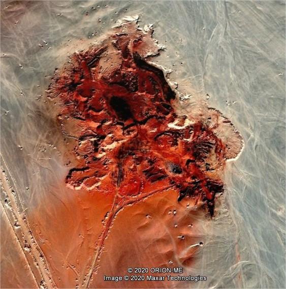 [C'est quoi ?] Du rouge dans le désert égyptien Google10