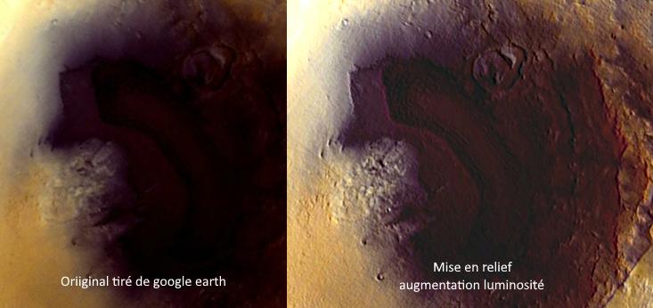 [C'est quoi ?] étonnantes  images  sur mars Singul13