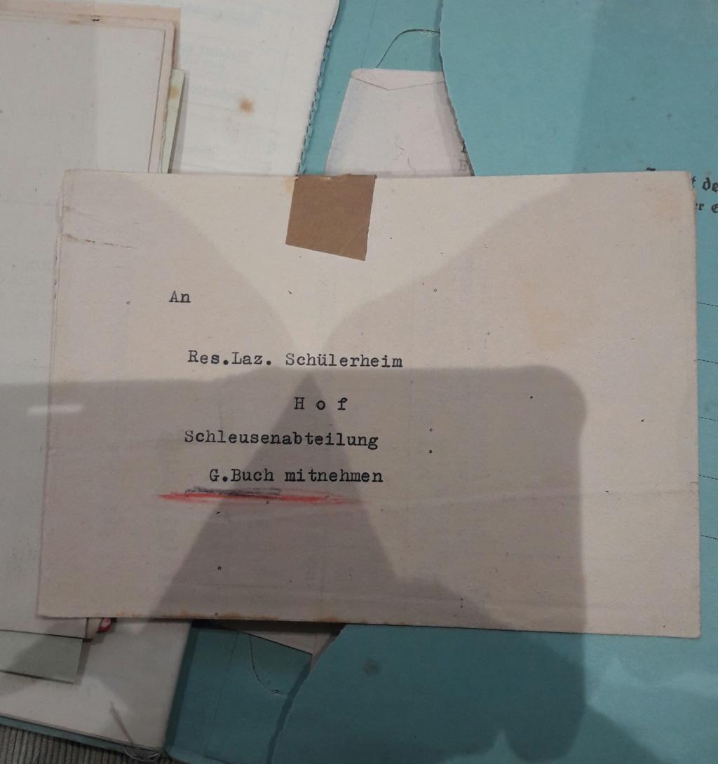 Wehrpass et lot de documents  20190227