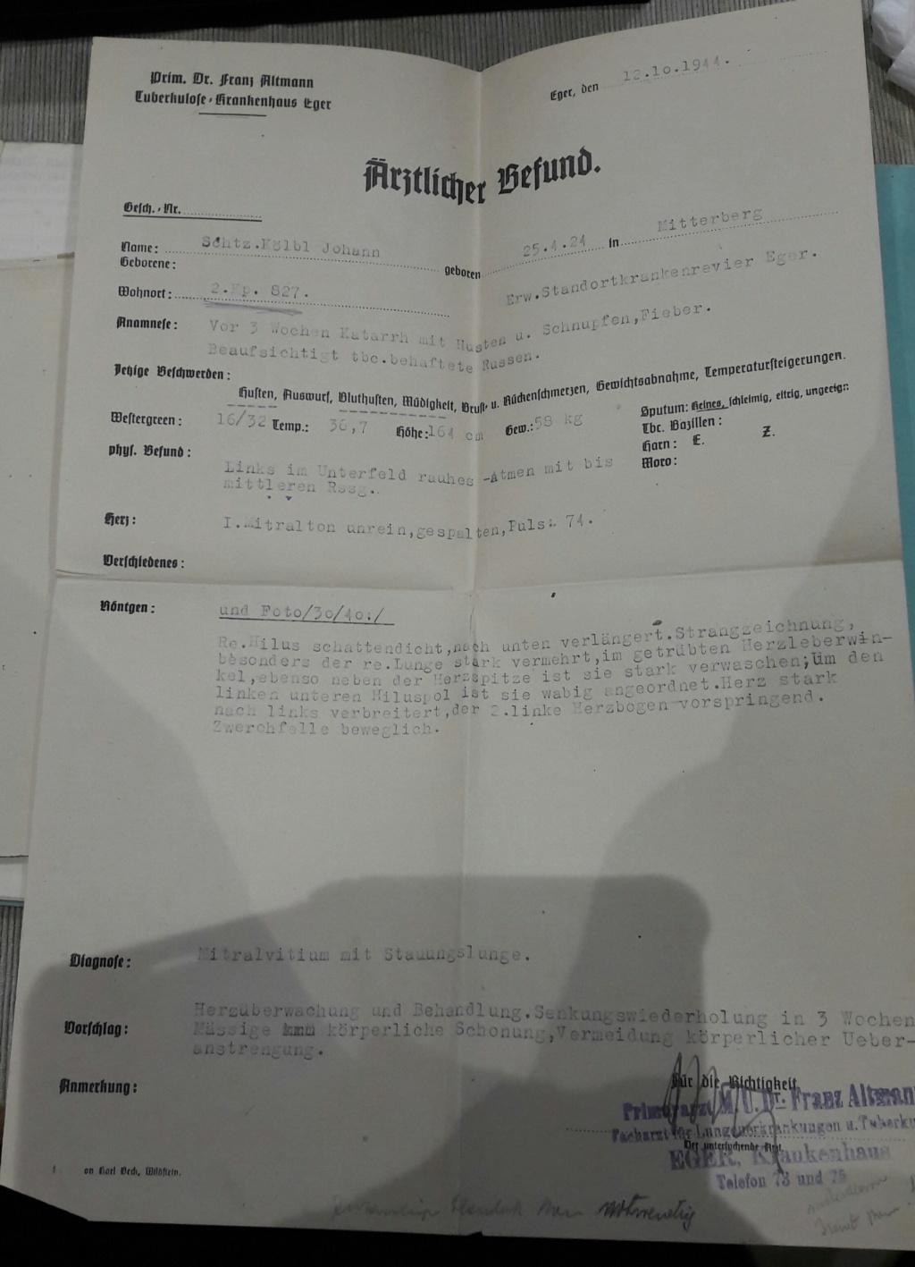 Wehrpass et lot de documents  20190229