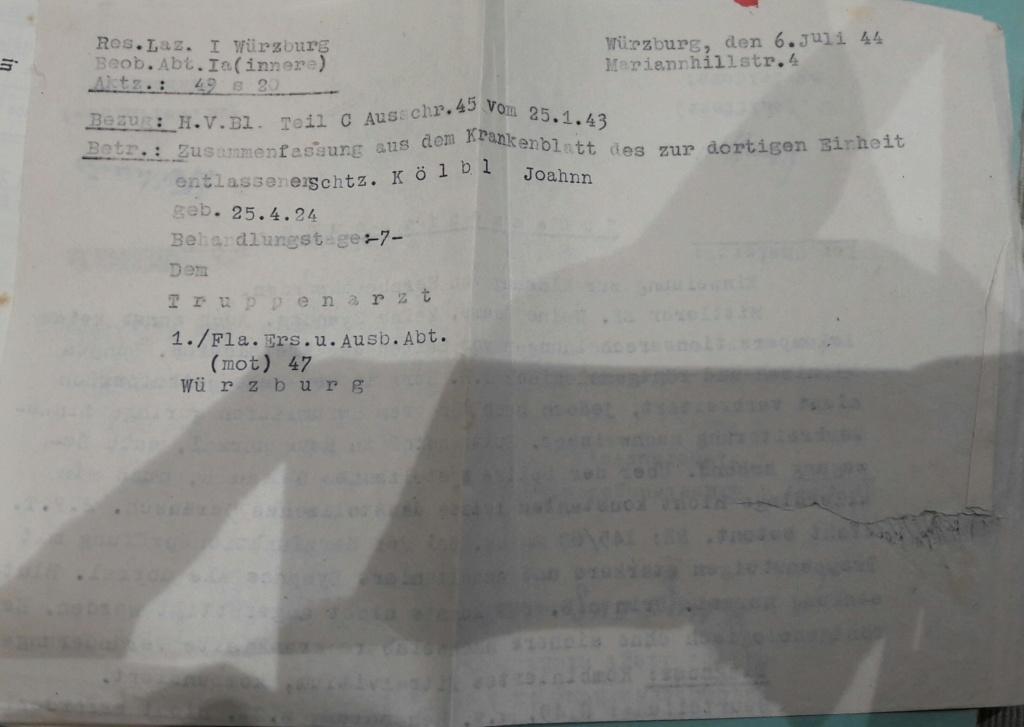Wehrpass et lot de documents  20190236