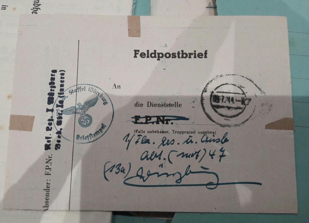Wehrpass et lot de documents  20190238