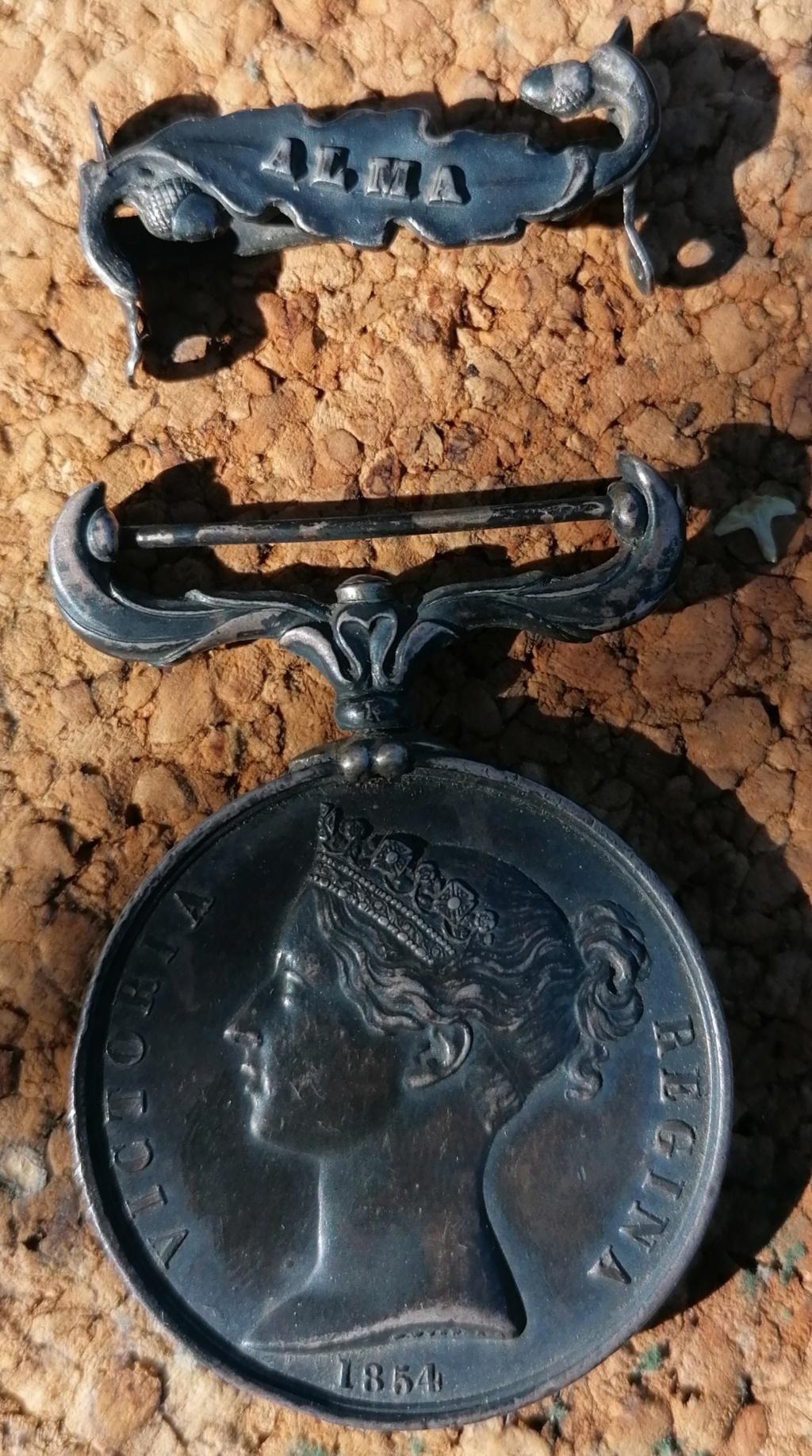 Médaille anglaise Crimea 1854 Img_2712