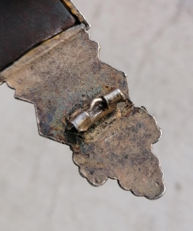 Badge combats rapprochés bronze  Img_2795