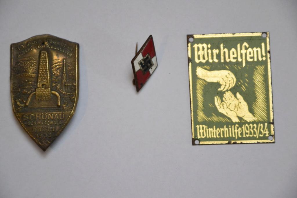 Épinglettes IIIe reich - winterhilfswerk, rad, hj... Dsc_0638