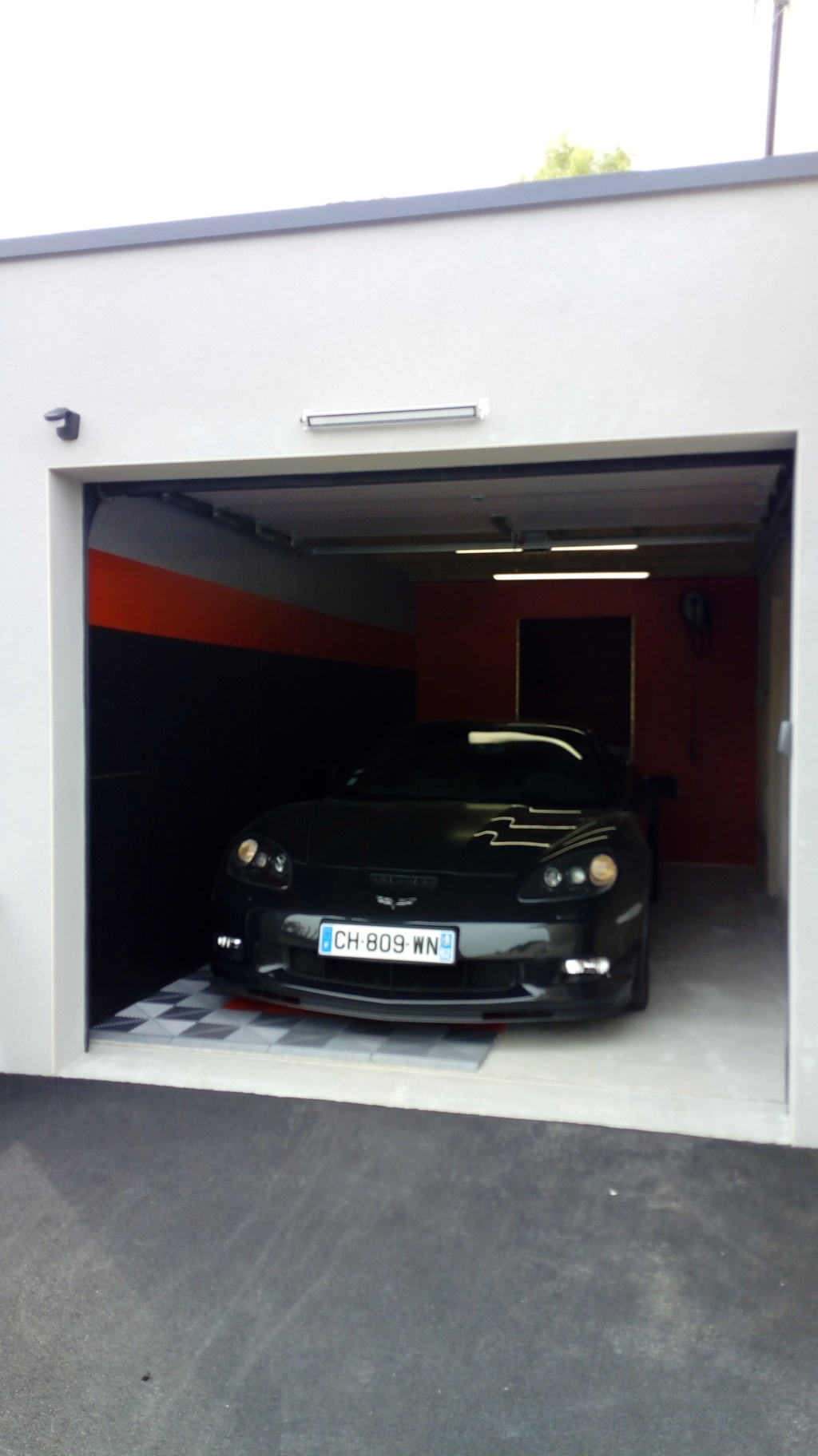 Stand de ma C6 Garage13