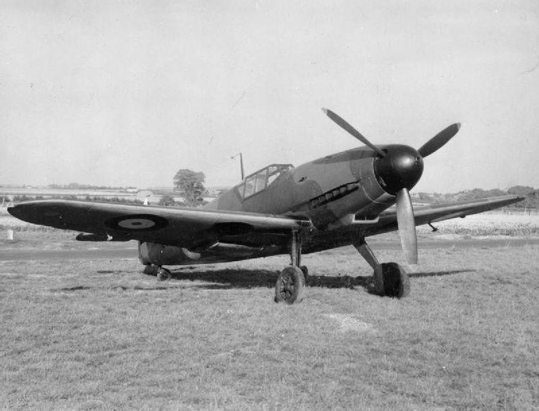 Messerschmitt Bf.109 G14. Revell 1/32. Ende. 788px-10