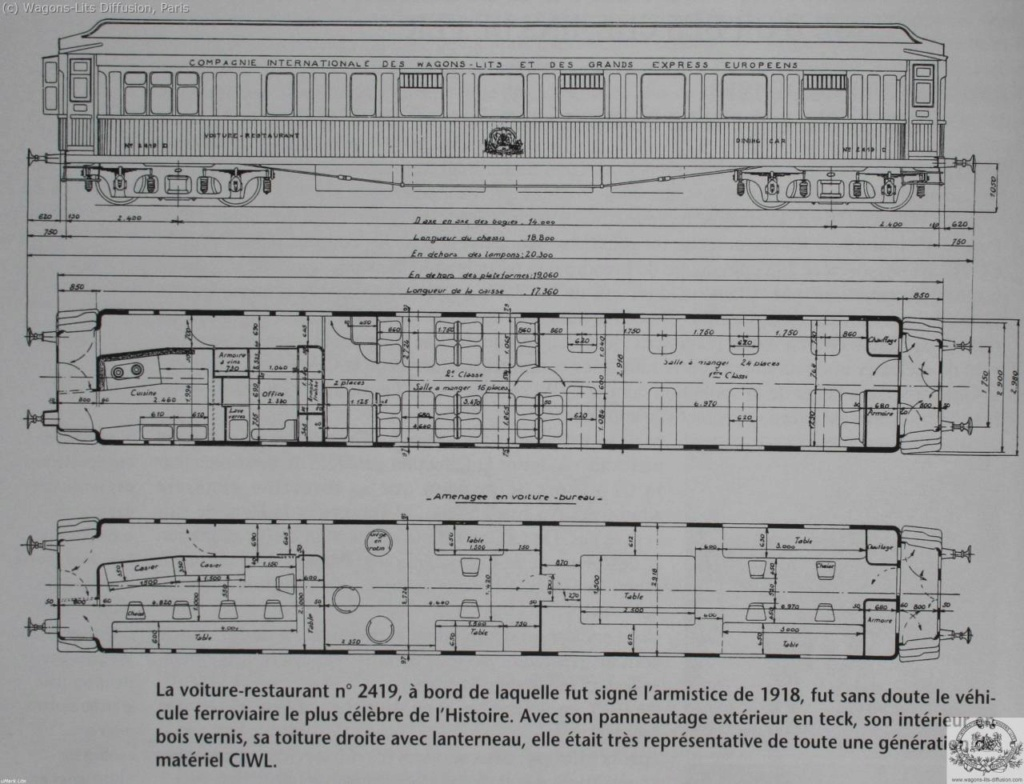 Wagon de l'armistice 1918 Wl-pla10