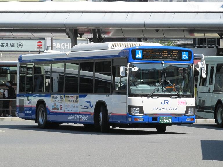[2018年の夏][京都市] 西日本JRバス Img_0890
