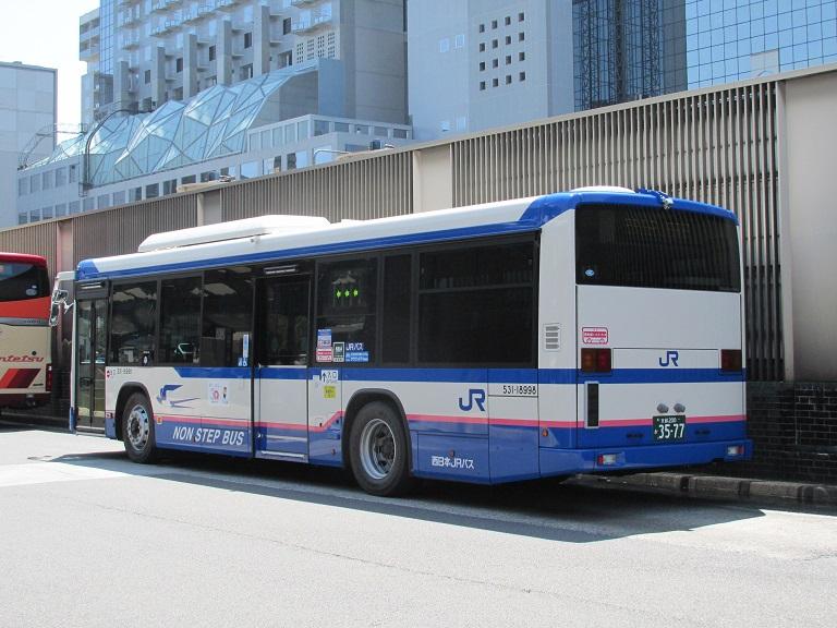 [2018年の夏][京都市] 西日本JRバス Img_1052
