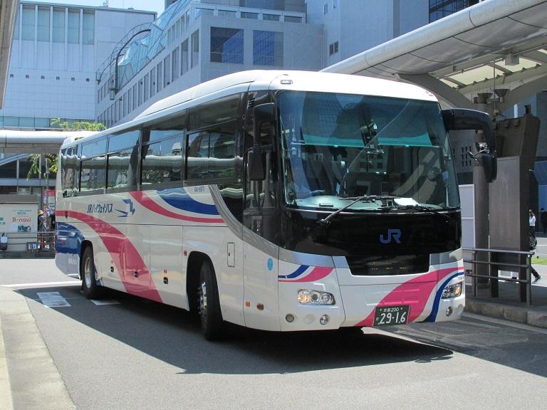[2018年の夏][京都市] 西日本JRバス (高速バス) Img_1057